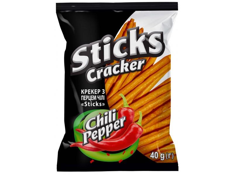 """Крекер """"Sticks"""" з перцем чілі"""