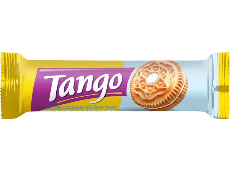 """Печиво цукрове """"Танго"""" з начинкою зі смаком згущеного молока (в шоубоксах)"""