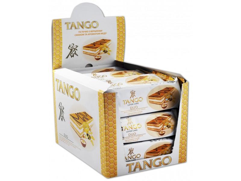 """Тістечко """"TANGO"""" з вершковим  смаком та ароматом меду (в шоубоксах)"""